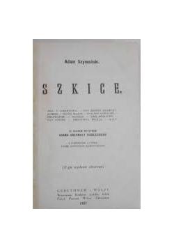 Szkice. 1927r.