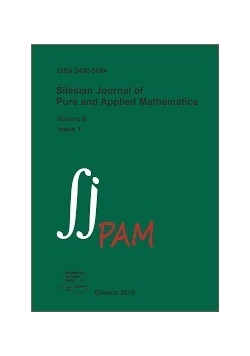 Silesian Journal of Pure and Applied Mathematics.