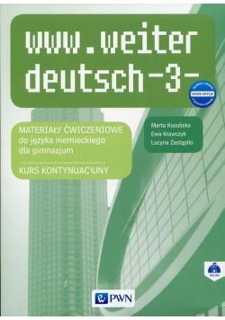 www.weiter_deutsch 3 Nowa edycja Materiały ćwiczeniowe
