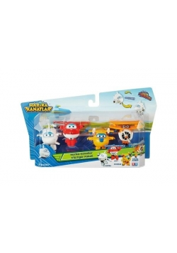 Super Wings Zestaw 4 figurek 2
