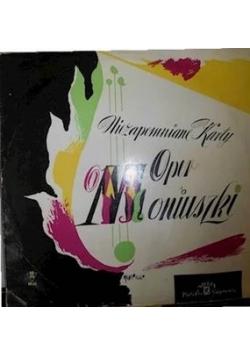 Niezapomniane karty oper Moniuszki ,płyta winylowa