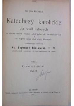 Katechezy katolickie Tom I, 1931 r.