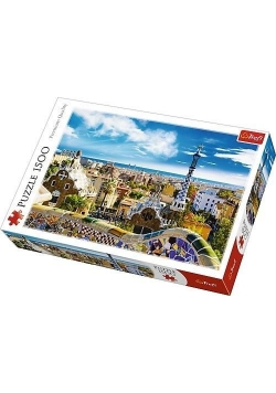 Puzzle 1500 Park Guell TREFL