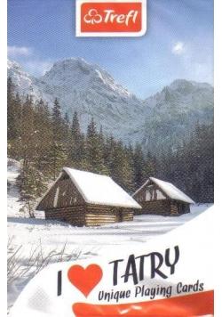 Karty - Kocham Polskę Tatry Zima TREFL