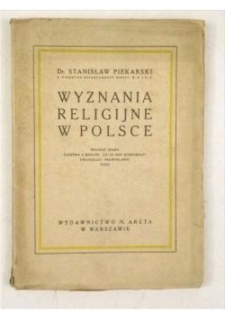 Wyznania religijne w Polsce, 1927 r.