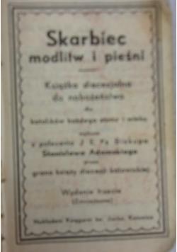 Skarbiec modlitw i pieśni, 1934 r.