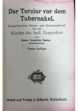 Der Terziar vor dem Tabernakel, 1913 r.