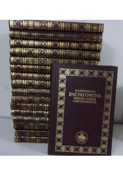 Ilustrowana Encyklopedia Trzaski, Everta i Michalskiego, 17 książek, reprint