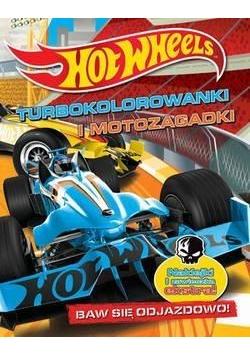 Hot Wheels Turbokolorowanki i motozagadki