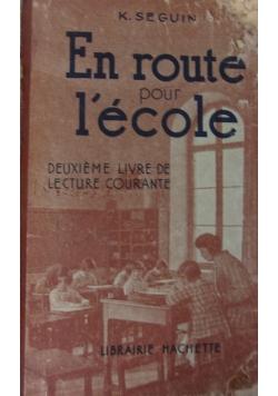 En route pour l'ecole. 1933 r.