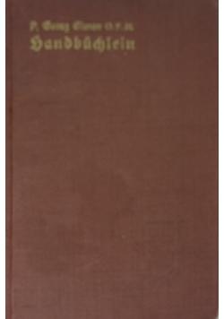 Handbuchlein fur Franziskuskinder, 1940r.