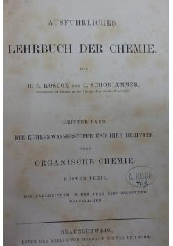 Lehrbuch der Chemie ,1877r.