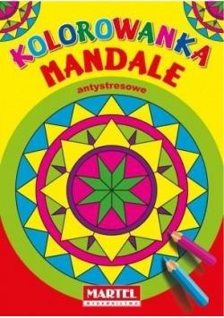 Kolorowanka Mandale Antystresowe.Trójkąty