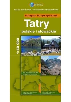 Mapa Turystyczna EuroPilot. Tatry br
