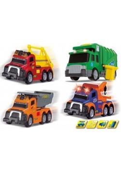 Mix małych pojazdów miejskich, 4 rodzaje