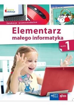 Elementarz małego informatyka SP 1 Podr. + CD