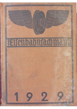 Der Eisenbahnfachmann 1929,  1929r.