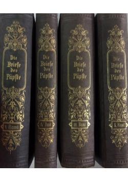 Die Briefe der Päpste, zestaw 4 książek