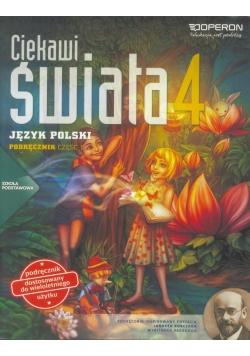 J.Polski SP 4/1 Ciekawi świata Podr. OPERON