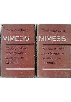 Mimesis. Rzeczywistość przedstawiona w literaturze Zachodu, tom I - II