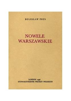 Nowele warszawskie, 1946 r.