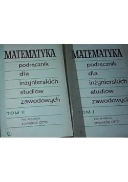 Matematyka podręcznik dla inżynierskich studiów zawodowych , Tom I ,II,III