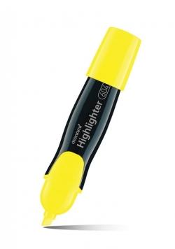 Zakreślacz 604 żółty (12szt) MONAMI