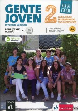 Gente Joven 2 Podręcznik wieloletni z płytą CD