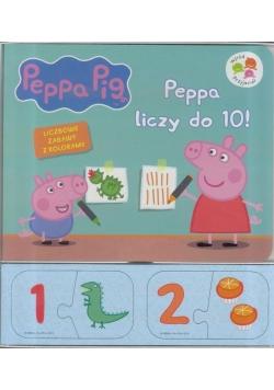 Świnka Peppa. Peppa liczy do 10!