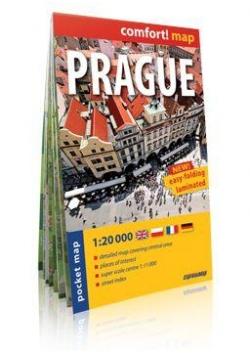 Comfort!map Prague (Praga) 1:20 000 plan miasta