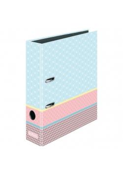 Segregator A4 8cm Gr.Pastell niebieski