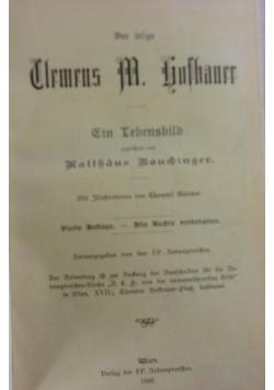 Clemens M. Hochsauer, 1902r.