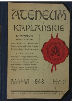 Atentum kapłańskie, 1948r.