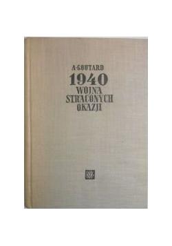 1940 wojna straconych okazji