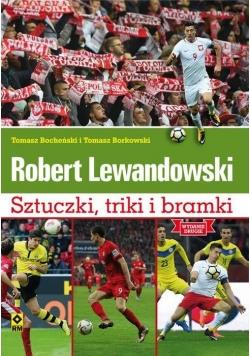 Robert Lewandowski. Sztuczki, triki i bramki w.II