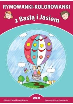 Rymowanki-kolorowanki z Basią i Jasiem