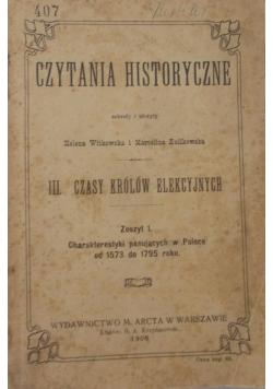 Czytania Historyczne, 1908 r.