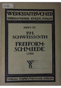 Werkstattbucher, heft 11, 1922 r.