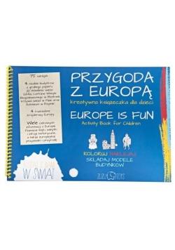 Przygoda z Europą. Kreatywna książeczka dla dzieci