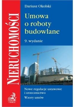 Umowa o roboty budowlane w.9