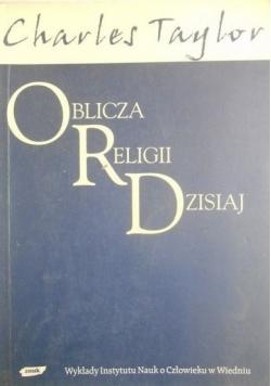 Oblicza religii dzisiaj