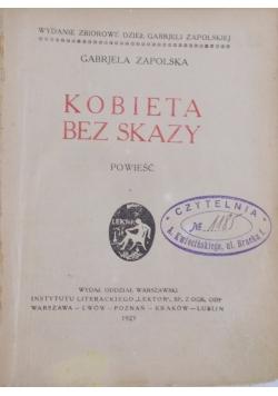 Kobieta bez skazy 1923 r