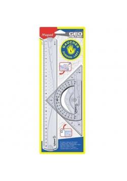 Zestaw Geometric leworęczni lin/ekier/kąt MAPED