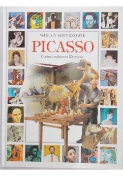 Wielcy mistrzowie. Picasso, geniusz malarstwa XX wieku
