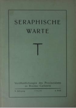 Seraphische Warte, 1929 r.