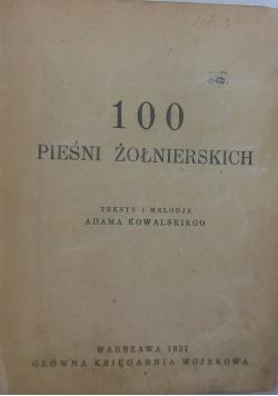 100 pieśni żołnierskich, 1937