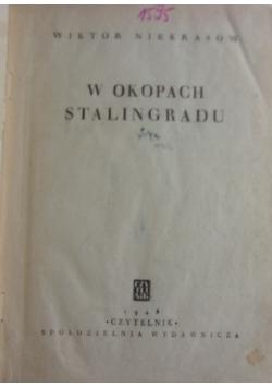 W okopach Stalingradu, 1948 r.