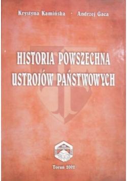 Historia powszechna ustrojów państwowych