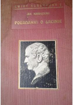 Pogadanki o Łacinie,1930r.