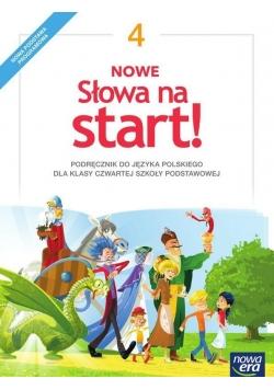 J.Polski SP  4 Nowe Słowa na start! Podr. NE